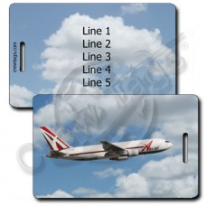 ABX AIR 767 LUGGAGE TAGS