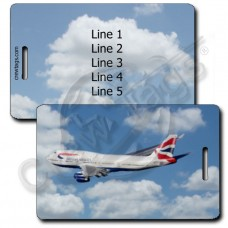 BRITISH AIRWAYS 747-436 LUGGAGE TAGS