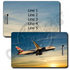 BRITISH AIRWAYS 787 LUGGAGE TAGS