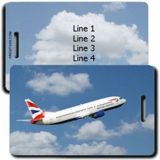 PERSONALIZED BRITISH AIRWAYS LUGGAGE TAGS
