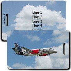 SILVER AIRWAYS PERSONALIZED LUGGAGE TAGS