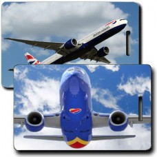 PERSONALIZED AIRLINE LUGGAGE TAGS