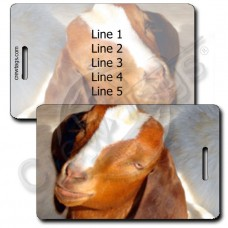 GOAT LUGGAGE TAGS