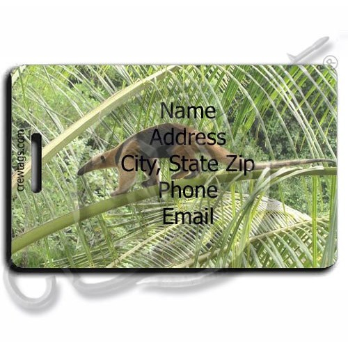 ANTEATER PERSONALIZED LUGGAGE TAGS