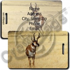 ANTELOPE LUGGAGE TAG