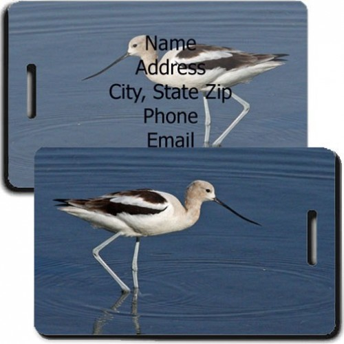 AVOCET CUSTOMA LUGGAGE TAG