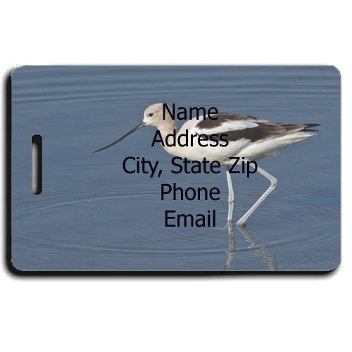 AVOCET CUSTOM LUGGAGE TAG