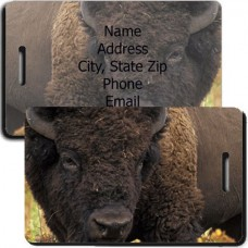Bison Luggage Tags