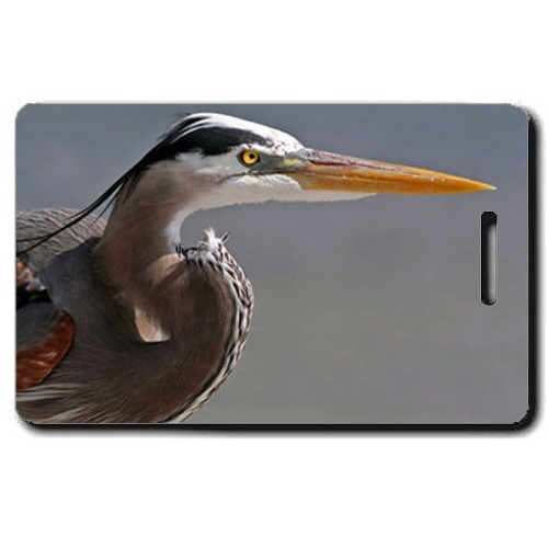 BLUE HERON LUGGAGE TAG