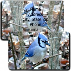 BLUE JAY LUGGAGE TAG
