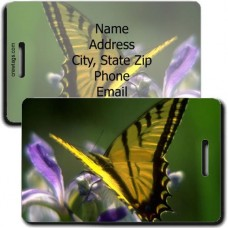 CECROPIA BUTTERFLY LUGGAGE TAG