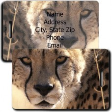 CHEETAH LUGGAGE TAG