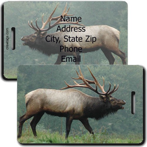 ELK PERSONALIZED LUGGAGE TAG