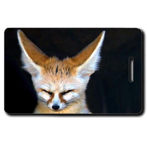 FENNEC FOX LUGGAGE TAG