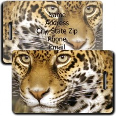 JAGUAR PERSONALZED LUGGAGE TAG