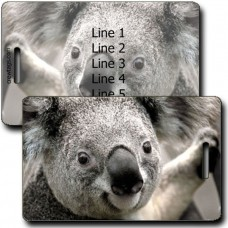 KOALA PERSONALIZED LUGGAGE TAG