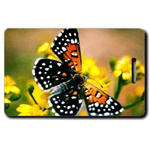 LANGES METALMARK BUTTERFLY LUGGAGE TAG