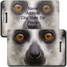 LEMUR PERSONALIZED LUGGAGE TAG
