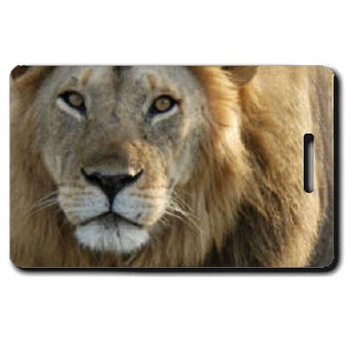 LION LUGGAGE TAG