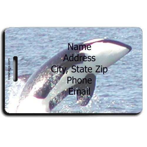 ORCA PERSONALIZED LUGGAGE TAG