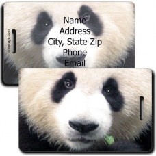 PANDA PERSONALIZED LUGGAGE TAG