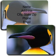 PENGUIN PERSONALIZED LUGGAGE TAG