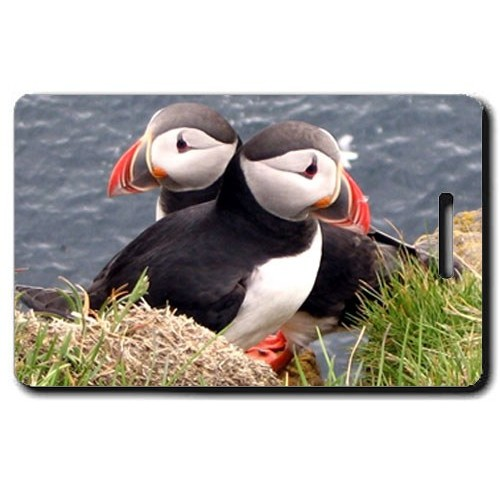 PUFFIN LUGGAGE TAG