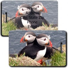 PUFFIN PERSONALIZED LUGGAGE TAG