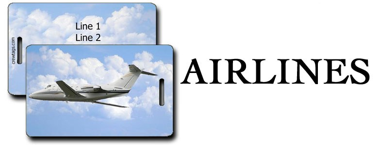 AIRLINES LUGGAGE TAGS