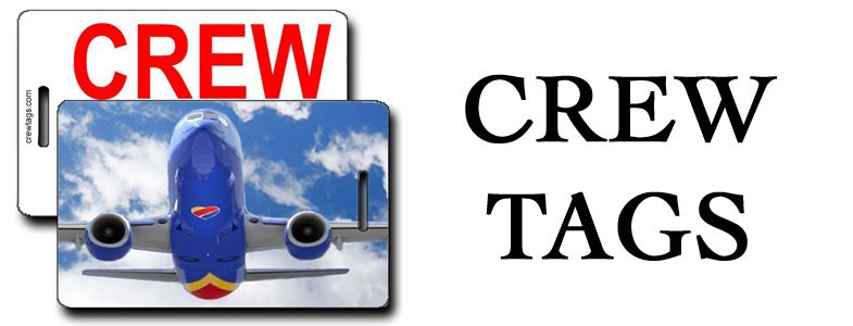 CREW TAGS LUGGAGE TAGS