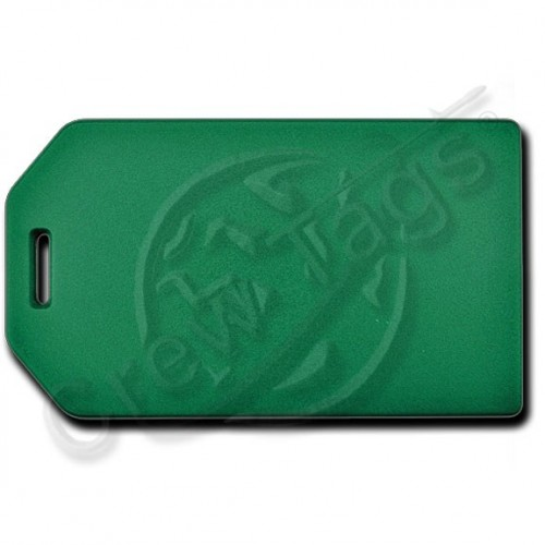 Business card holder luggage tag green colourmoves