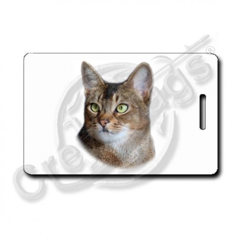 Abyssinian Cat Luggage Tags