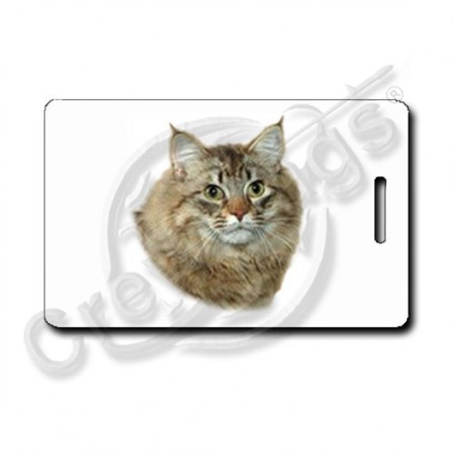 American Bobtail Cat Luggage Tags