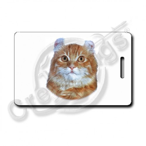 American Curl Cat Luggage Tags
