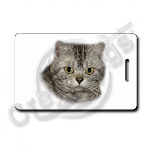 American Shorthair Cat Luggage Tags