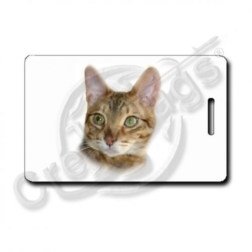 BENGAL CAT LUGGAGE TAGS