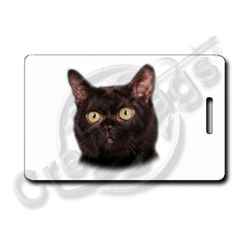 BOMBAY CAT LUGGAGE TAGS