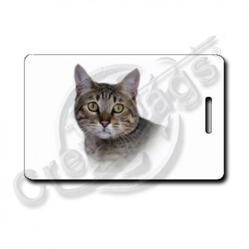 CALIFORNIA SPANGLED CAT LUGGAGE TAGS