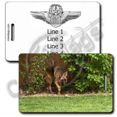 CUSTOM PHOTO: USAF MASTER NAVIGATOR LUGGAGE TAGS
