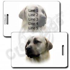 ANATOLIAN SHEPHERD PERSONALIZED LUGGAGE TAGS