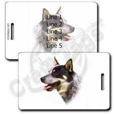AUSTRALIAN CATTLE DOG PERSONALIZED LUGGAGE TAGS