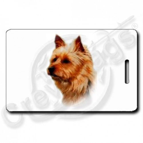 AUSTRALIAN TERRIER LUGGAGE TAGS
