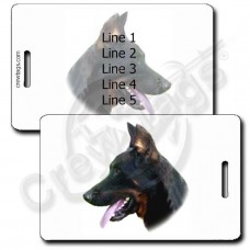 PERSONALIZED BEAUCERON LUGGAGE TAG