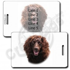 PERSONALIZED BOYKIN SPANIEL LUGGAGE TAGS