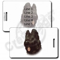 PERONALIZED BRIARD LUGGAGE TAGS