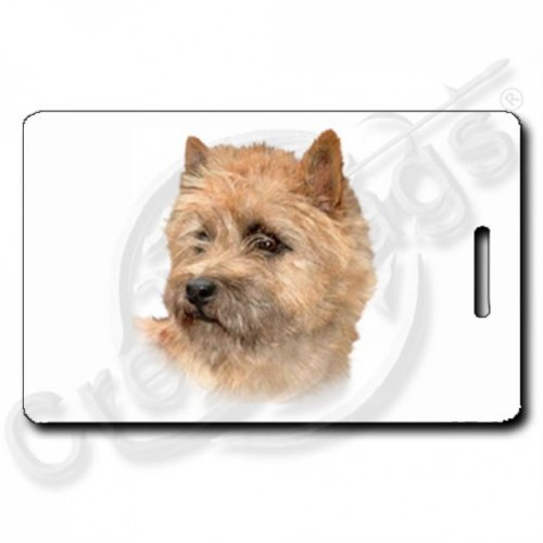 CAIRN TERRIER PERSONALIZED LUGGAGE TAGS
