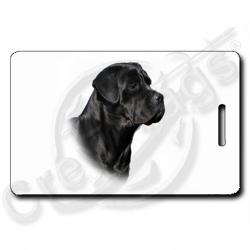 CANE CORSO PERSONALIZED LUGGAGE TAGS
