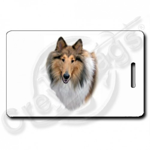 COLLIE LUGGAGE TAGS
