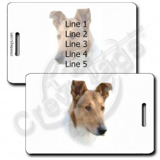 COLLIE - SMOOTH COAT LUGGAGE TAGS