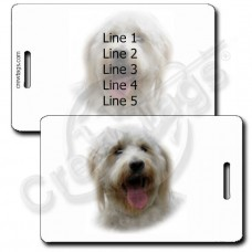 GOLDEN DOODLE LUGGAGE TAGS